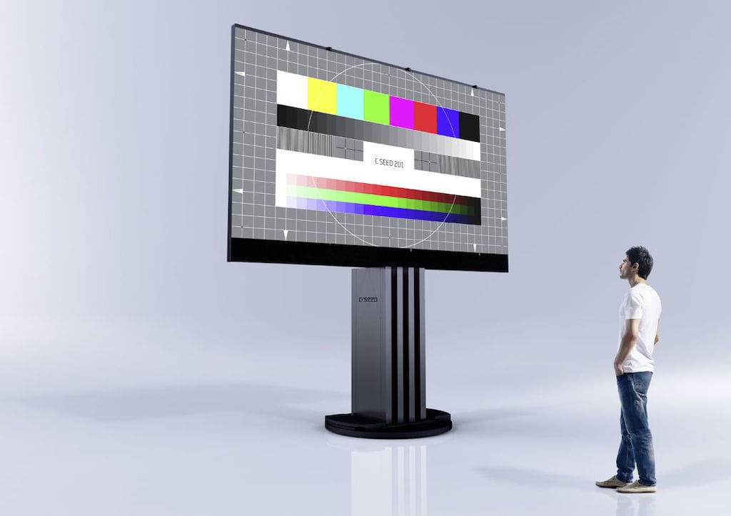 C SEED 201 Outdoor Micro LED TV