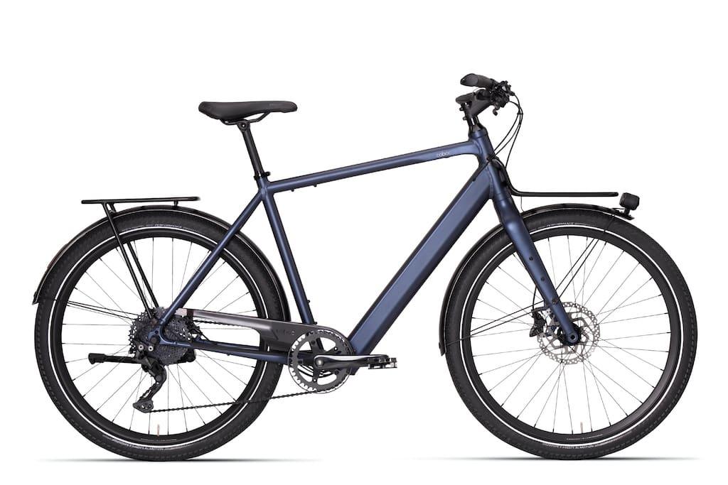 Coboc Brixton DMT E-Bike in Blau