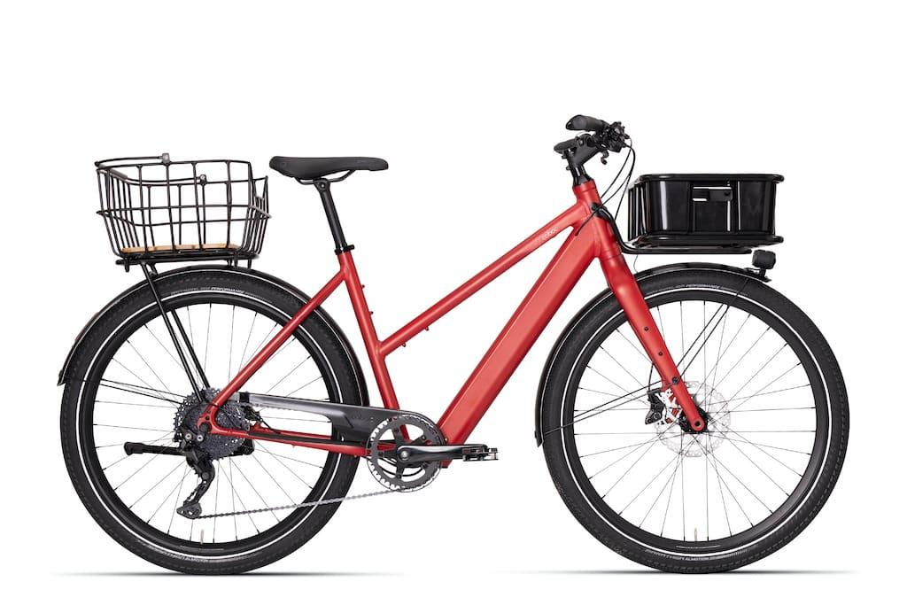 Coboc Brixton TPZ E-Bike in Rot
