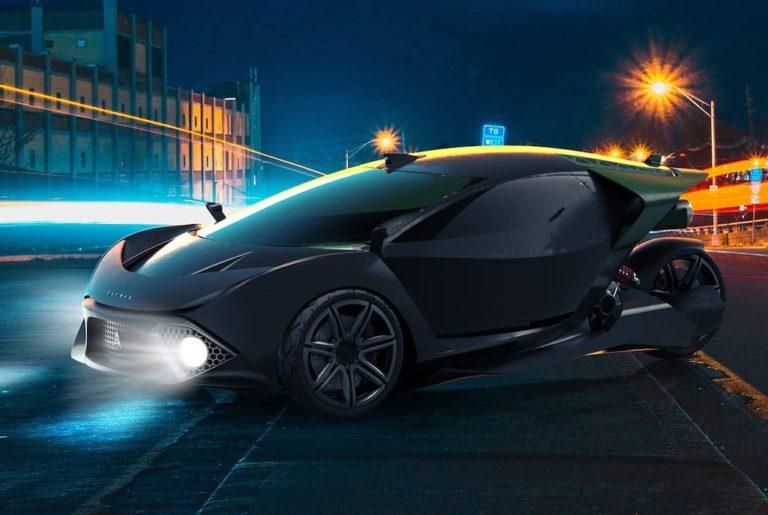 Daymak Spiritus 3-Rad Elektro-Auto