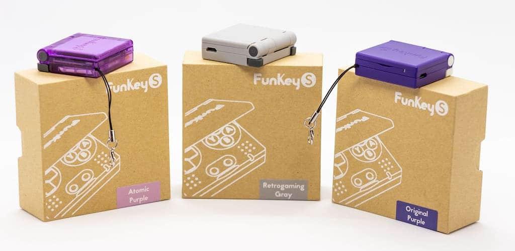 Farben der FunKey S Minikonsole
