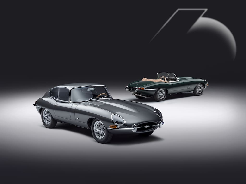 E-Type 60 Collection je 6 Coupé und Roadster