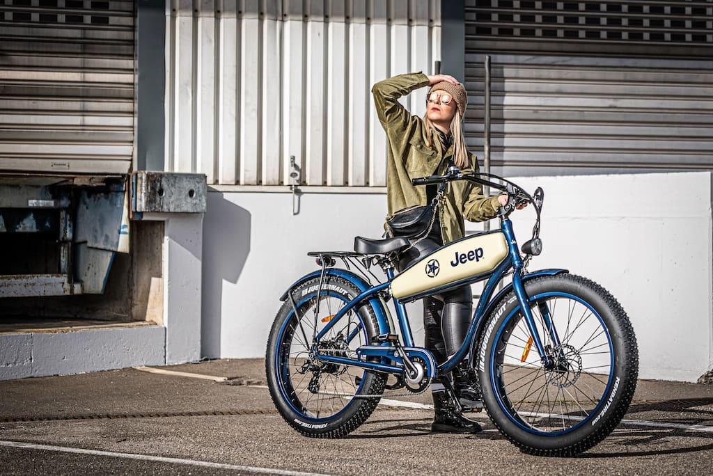 Jeep Cruise E-Bike CR 7005 - Queen of the Road