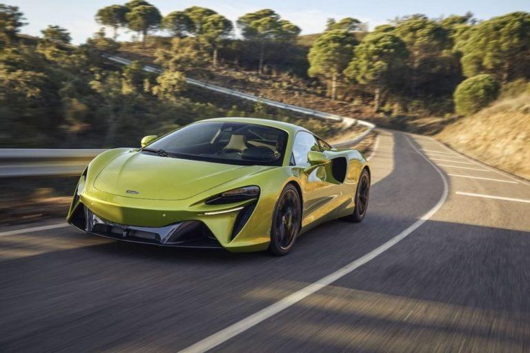 McLaren Artura Supercar für 2021
