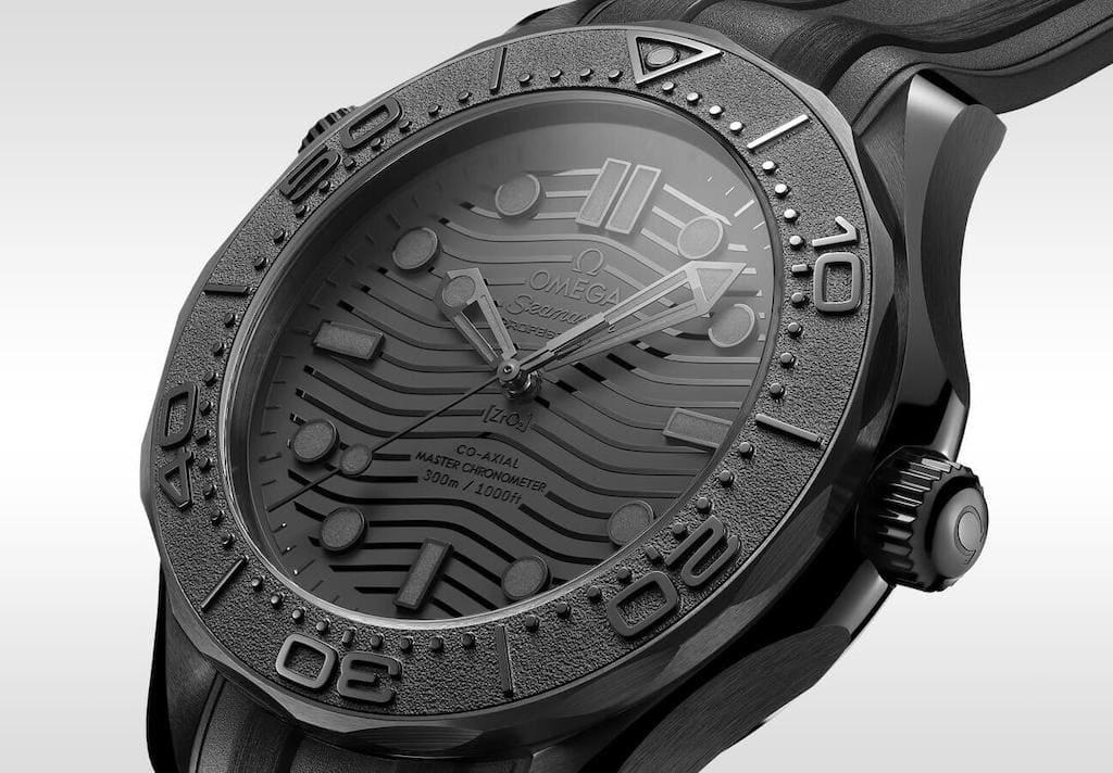 Omega Seamaster Diver 300M Black Black Chronometer