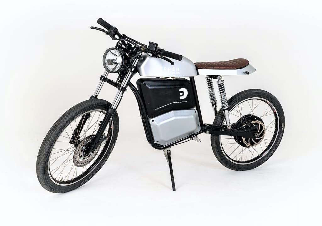 Pepper Motorcycles Elektro-Motorrad Cafe-Racer/ Scrambler