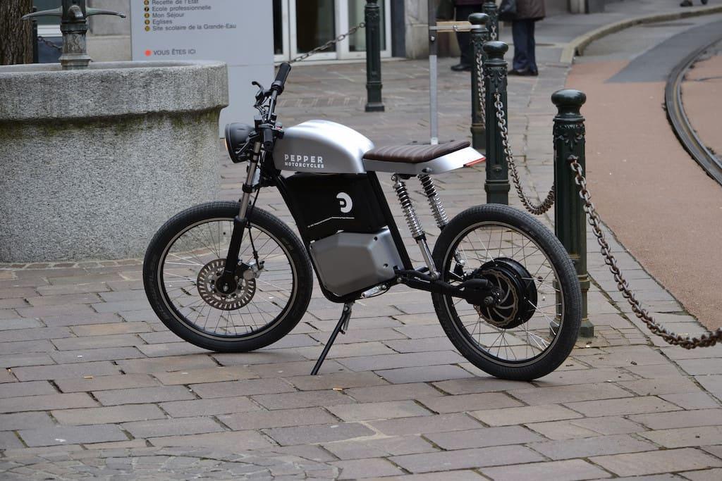 Pepper Motorcycles Elektro-Motorrad aus der Schweiz