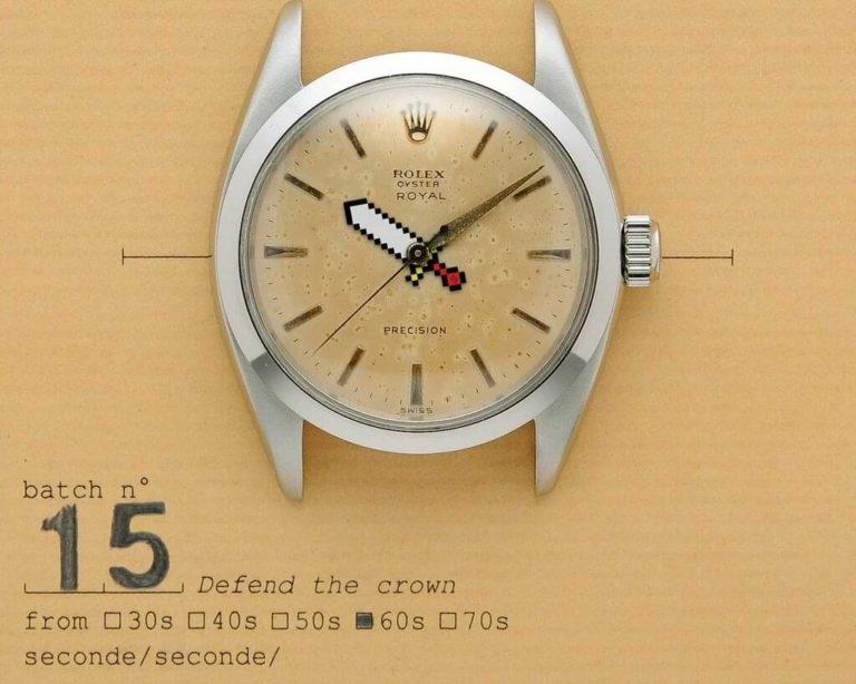 seconde/seconde - Rolex Uhr - Defend the crown