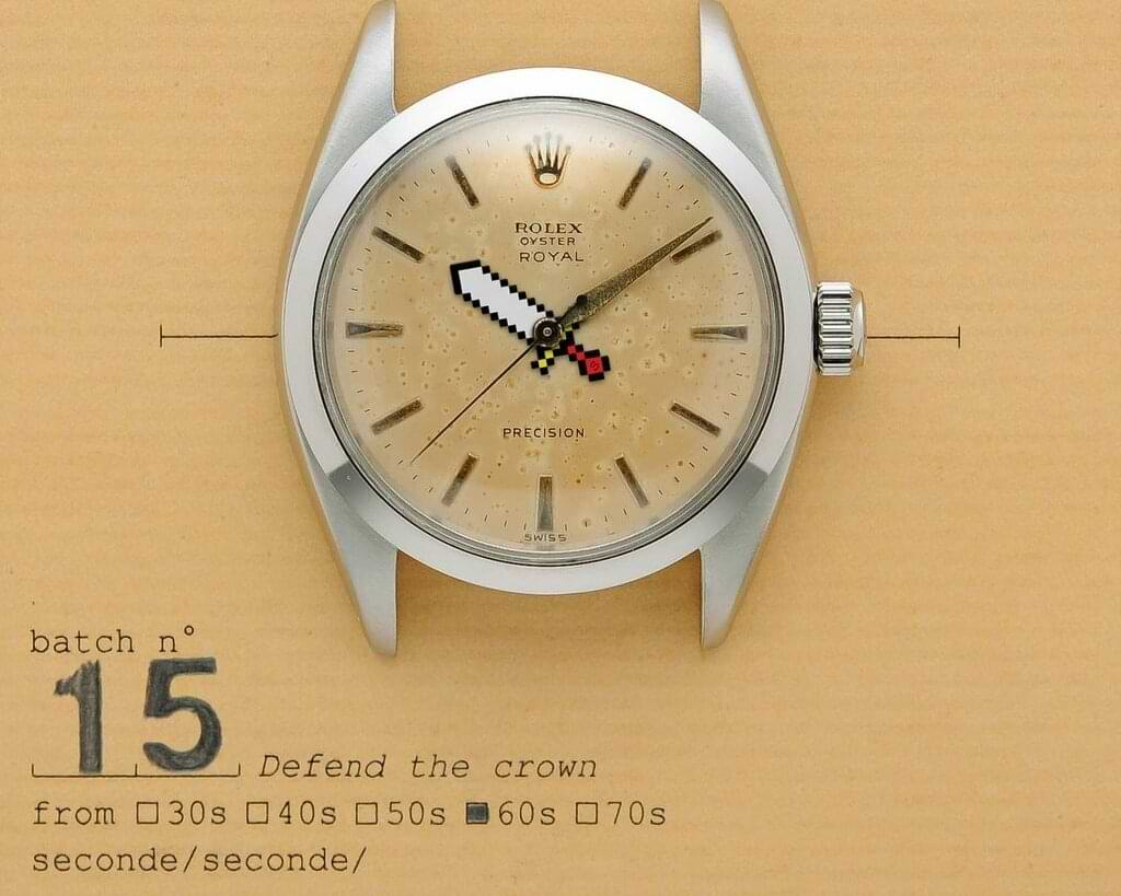 seconde / seconde - Rolex Uhr - Defend the crown
