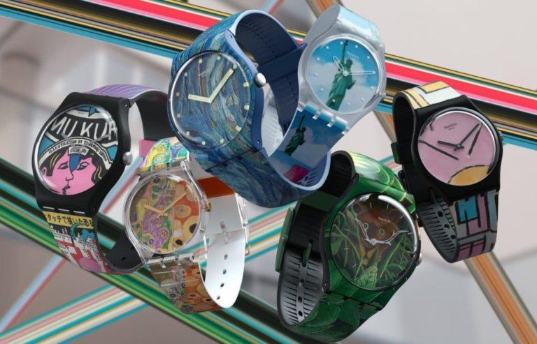 Swatch x MoMa Design-Uhren 2021