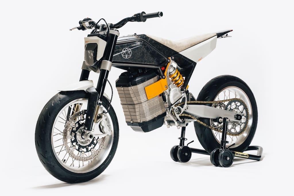 WSM PACT E-Motorrad von Walt Siegl