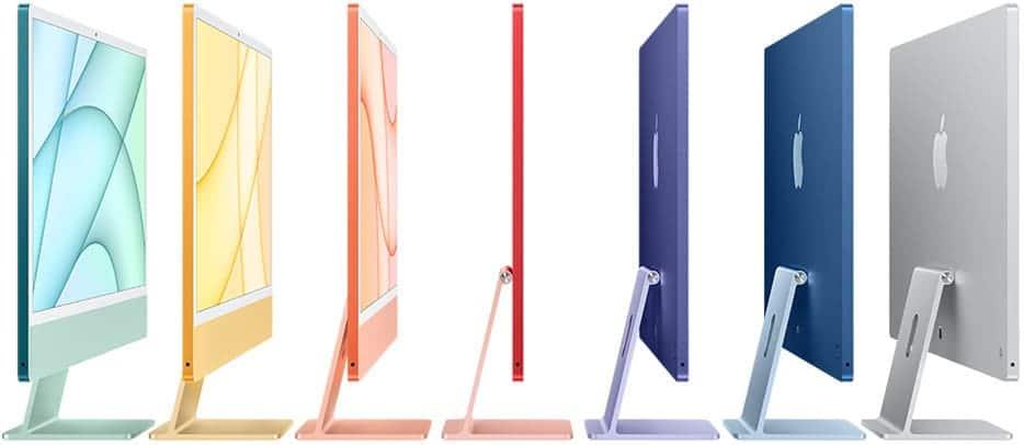 24 Zoll Apple M1 iMac in 7 Farben