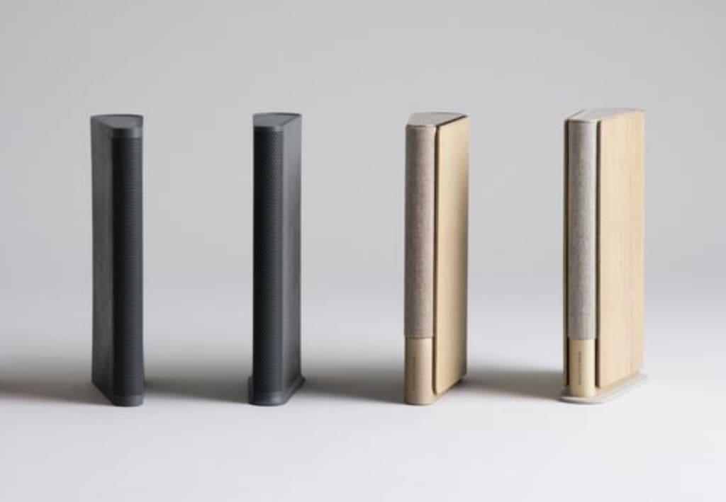 Beosound Emerge Farben Black Anthracite und Gold Tone