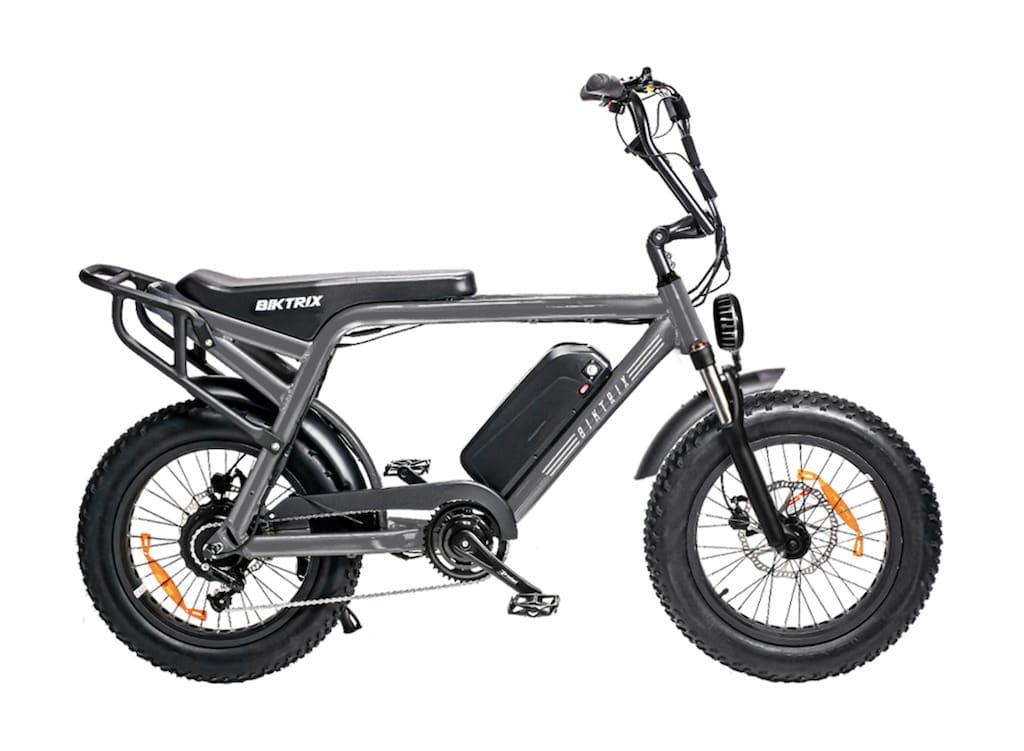 Biktrix Moto Elektromoped - Farbe Charcoal