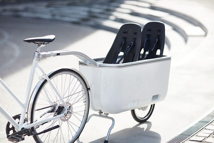 Biomega EIN mit 2 Kindersitzen