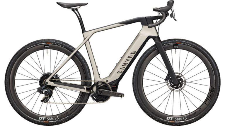 Canyon Grail:On CF 8 eTap E-Bike