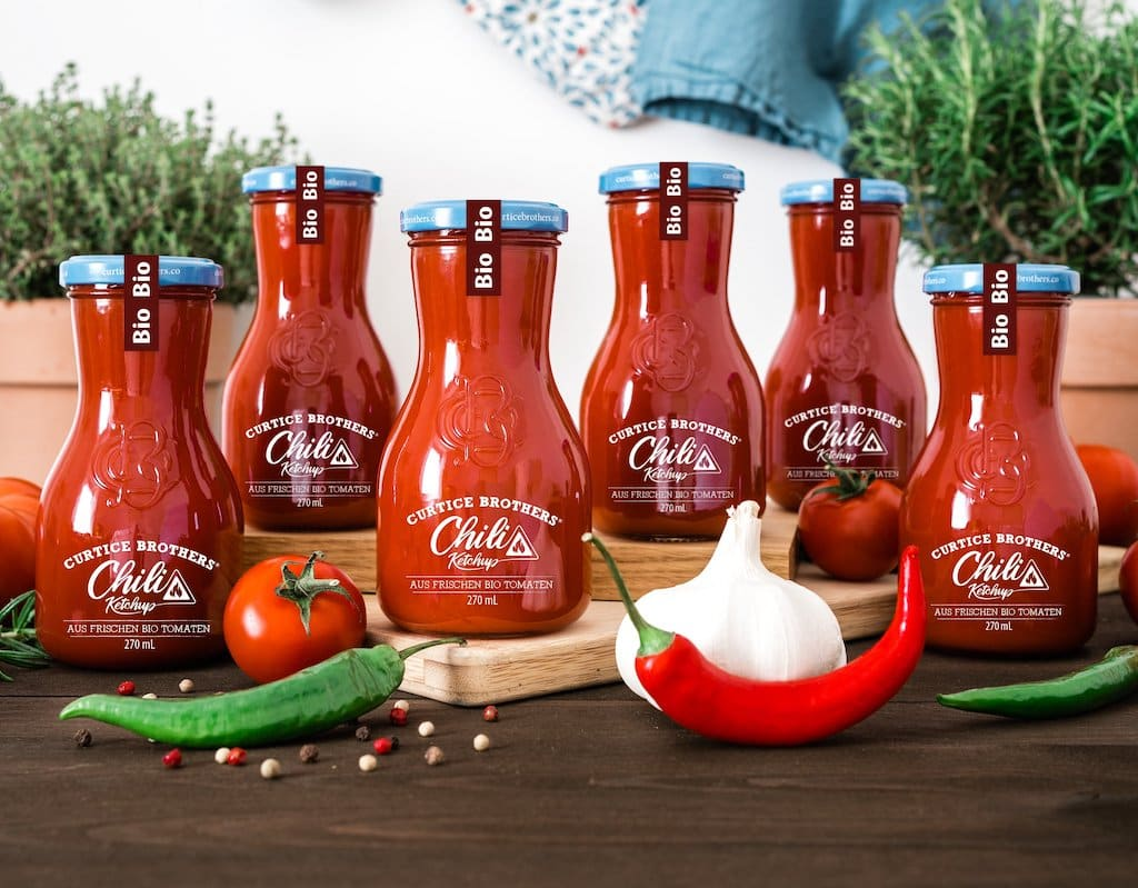 Curtice Brothers Bio Chili Ketchup