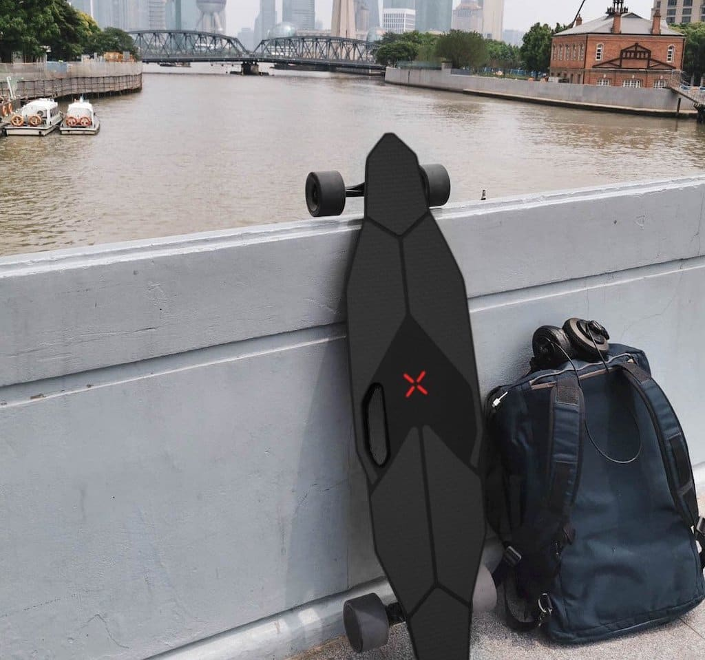 Abbildung des E-Skateboard M1