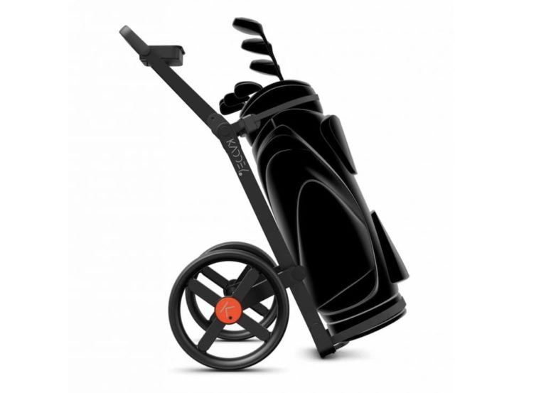 Golf-Trolley Kaddey Switch in Schwarz