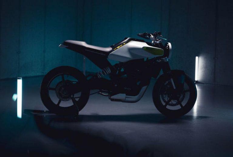 Husqvarna E-Pilen Elektro-Motorrad Concept