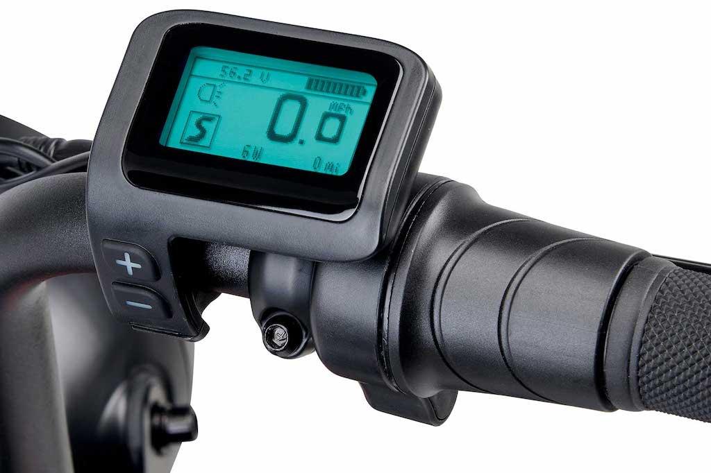 LCD-Display am Juiced Scorpion X