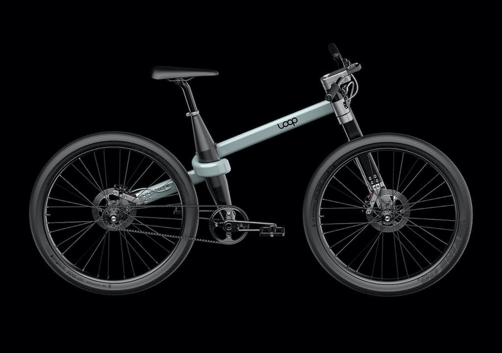 Loop Bike - innovatives Fahrrad-DesignLoop Bike - innovatives Fahrrad-Design