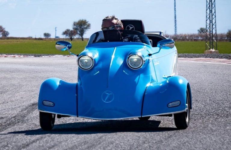 Der Elektro-Kabinenroller Messerschmitt KR-E5000
