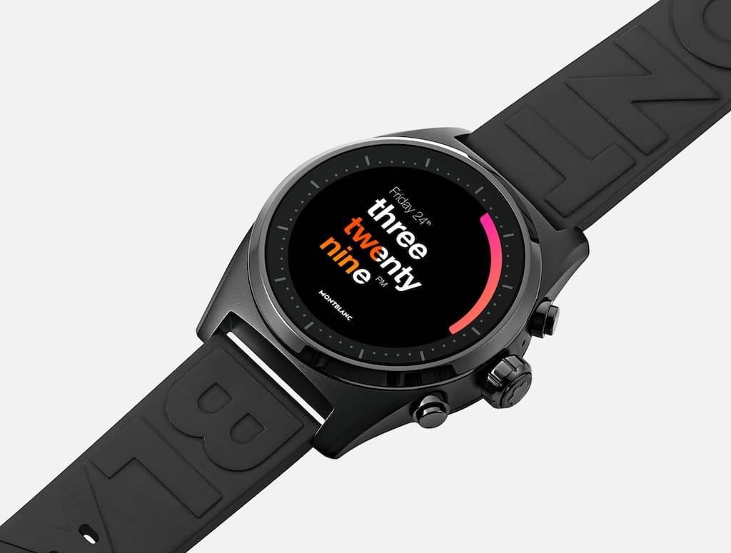 Luxus-Smartwatch Montblanc Summit Lite