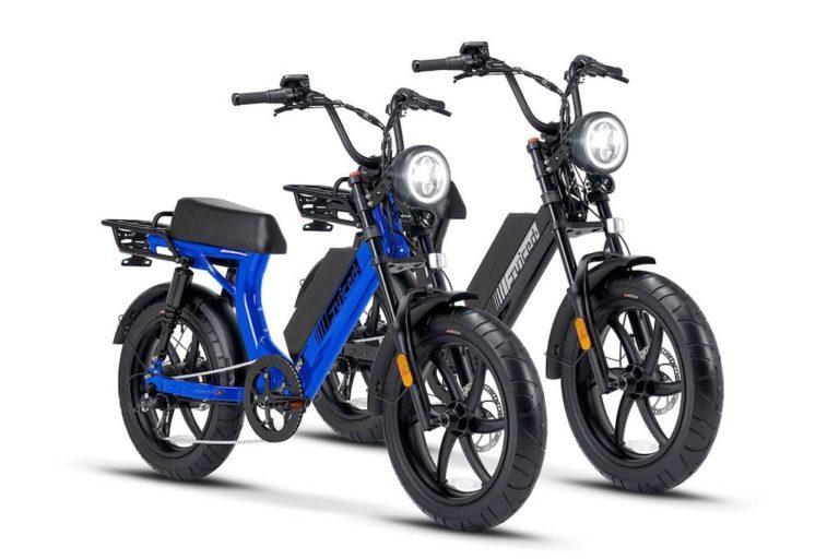 Scorpion X Ebike in Blau und Schwarz