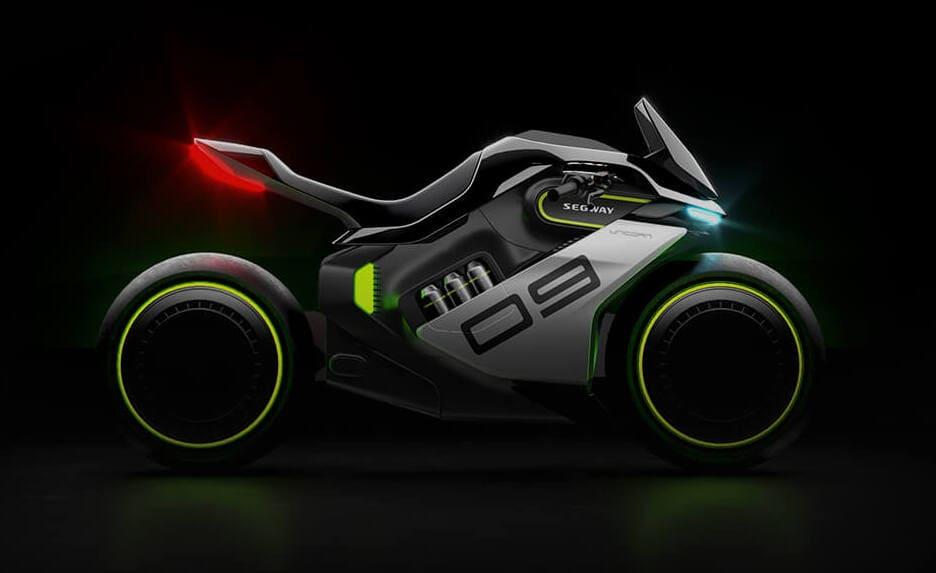 Segway Apex H2 E-Motorrad mit Wasserstoffantrieb