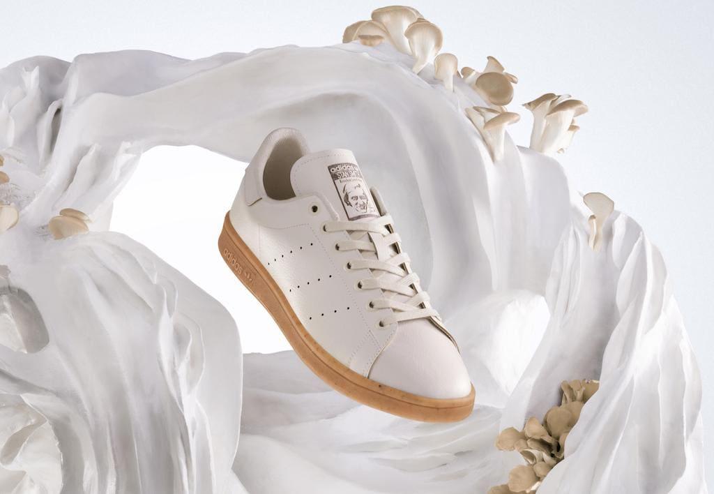 Stan Smith Mylo Adidas Sneaker aus Pilz-Leder