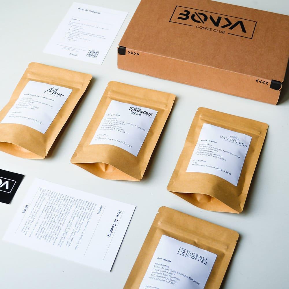 Boenka Coffee Club BOX No.3 - Filterkaffee