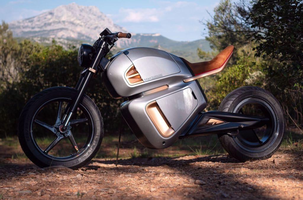 Elektro-Motorrad NAWA Racer