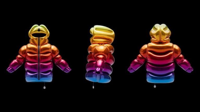 Ballon-Jacke HELIUM-10000 von Andrew Kostman
