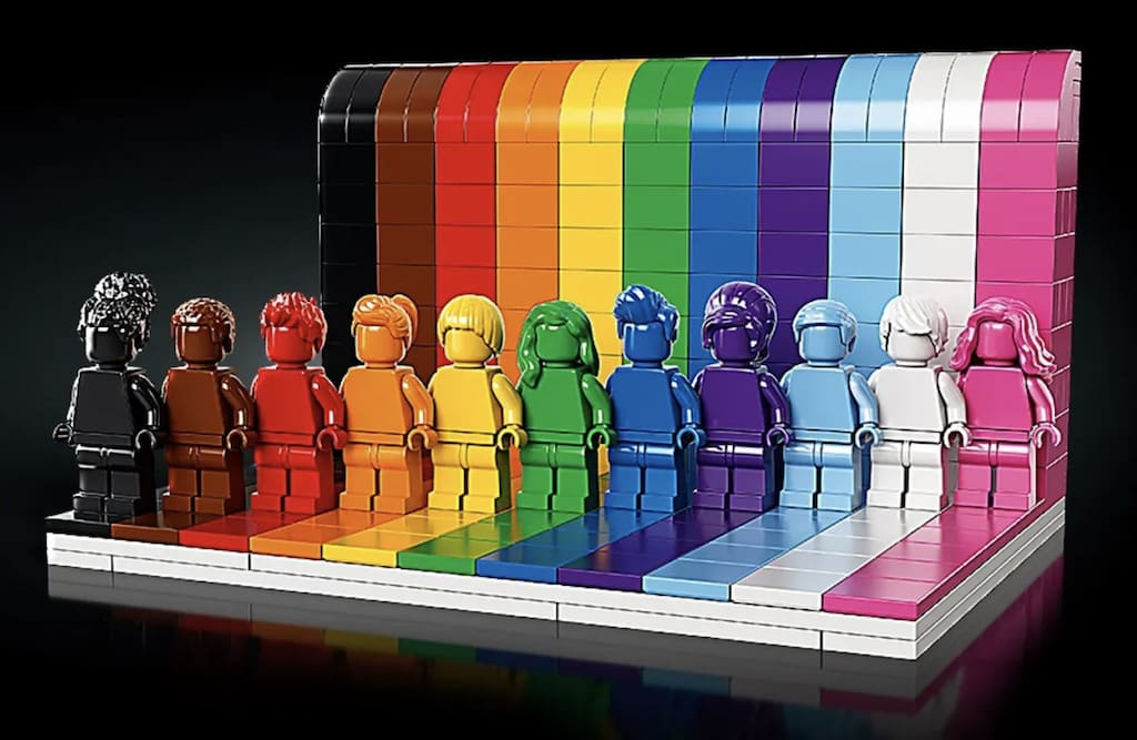 LEGO-Set: Jeder ist besonders