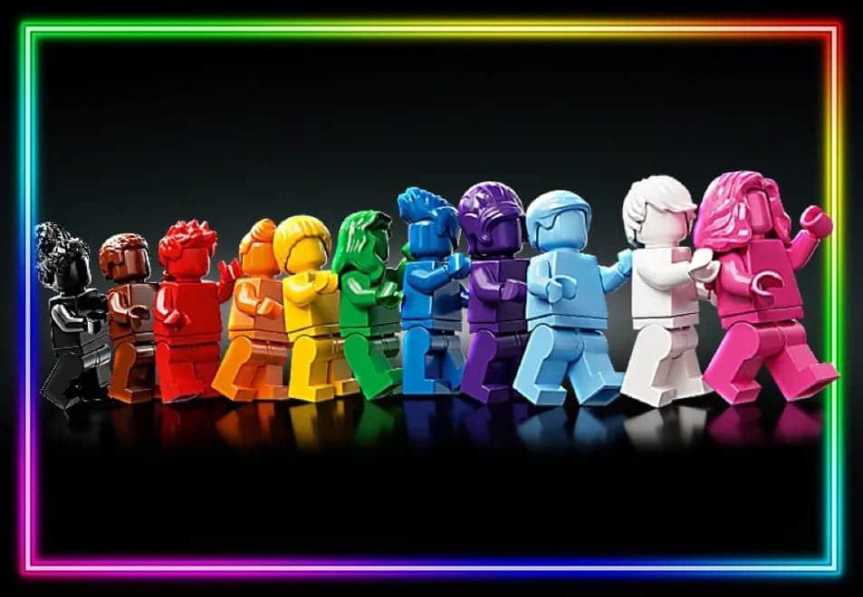 Lego Everyone is Awesome Set für die LGBTQIA+ Community
