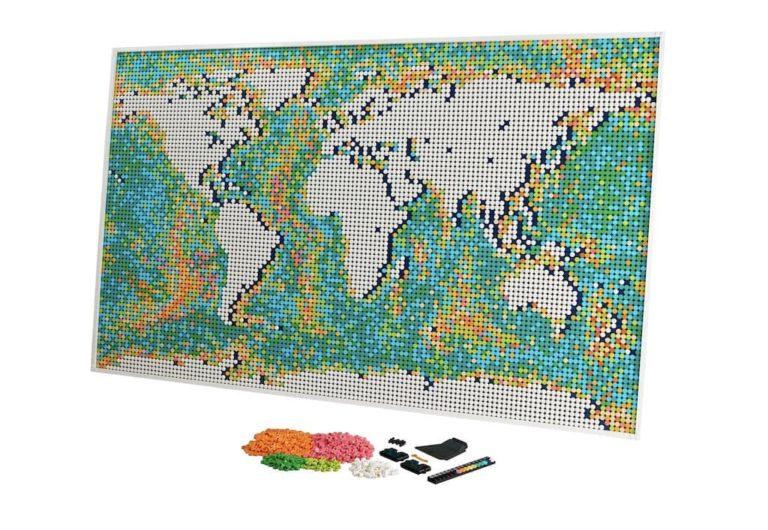 LEGO Weltkarte Map 31203
