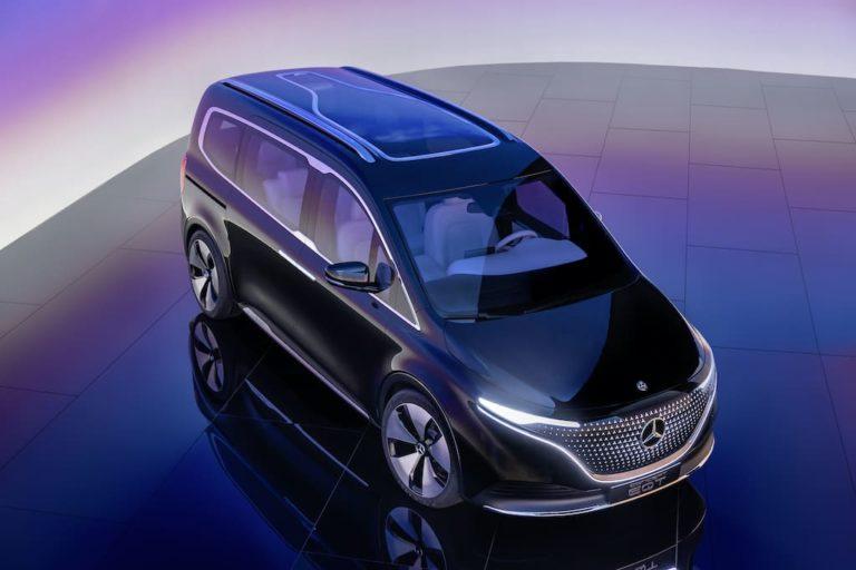 Mercedes-Benz Elektro-Van Concept EQT