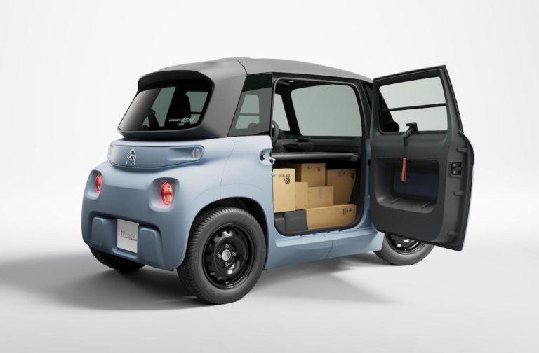 My AMI Cargo Elektro-Lieferwagen von Citroën