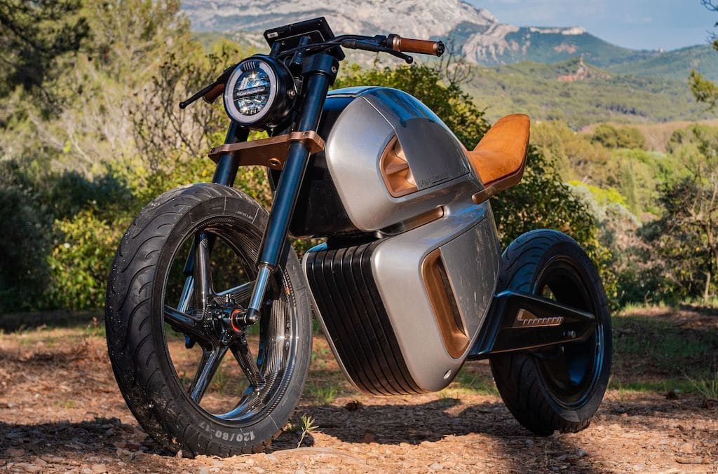 NAWA Racer Hybrid Elektro-Motorrad