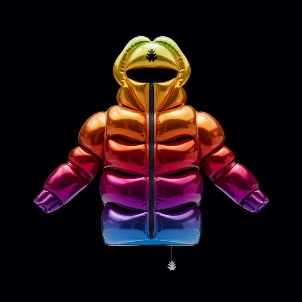 Rainbow N Helium 10000 Ballon-Jacke