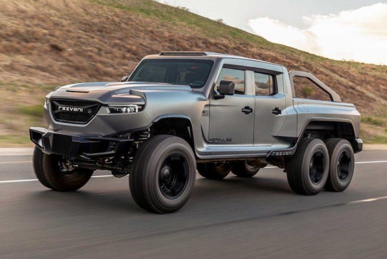 Rezvani Motors Hercules Military edition