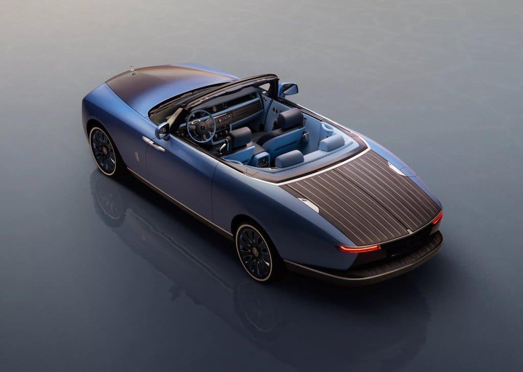 Das Luxusauto Rolls-Royce Boat Tail
