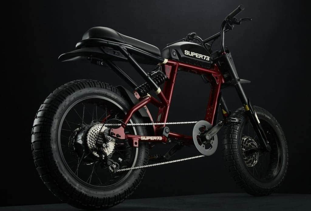 SUPER73-RX Carmine Red Elektro-Fahrrad
