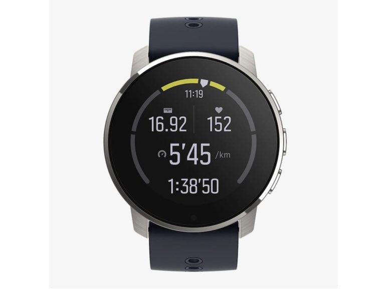 Display der Suunto 9 Peak Smartwatch