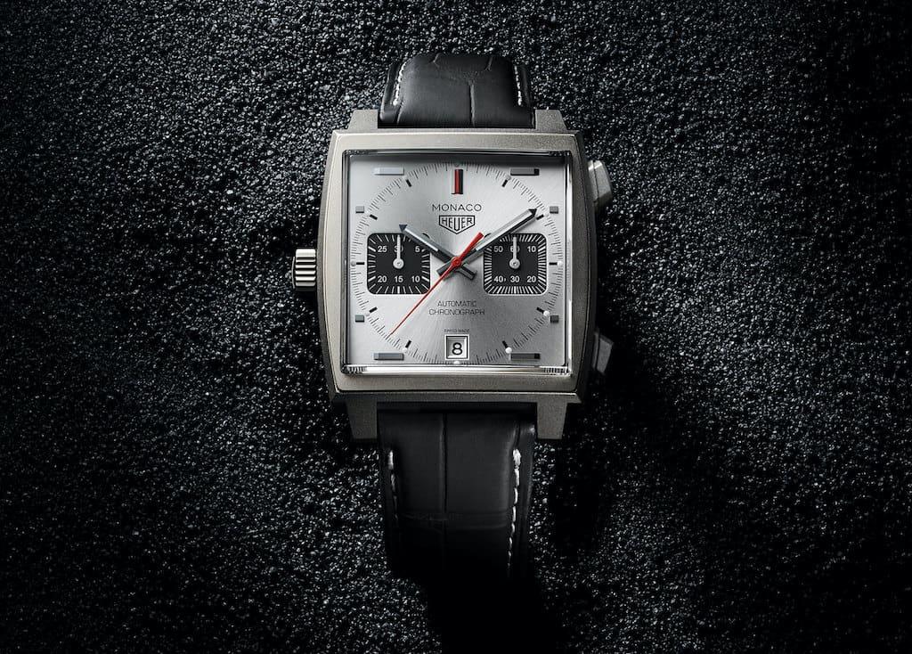 TAG Heuer Monaco Titanium Uhr in Grey