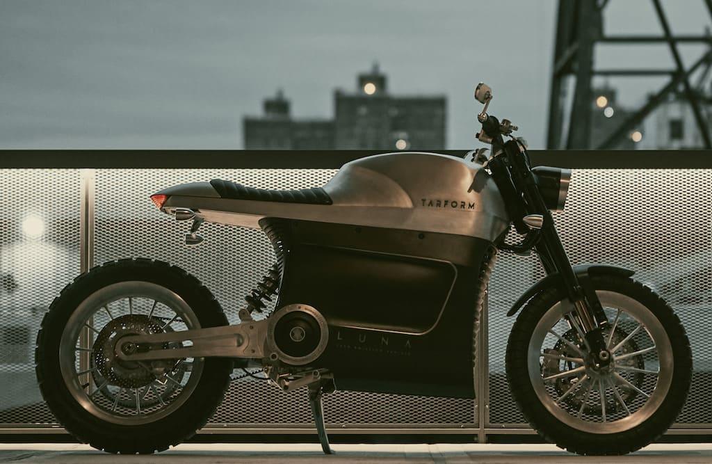 Das Elektro-Motorrad Tarform Luna