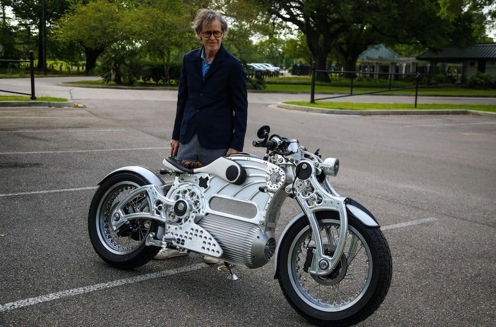 Das E-Motorrad Curtiss ONE