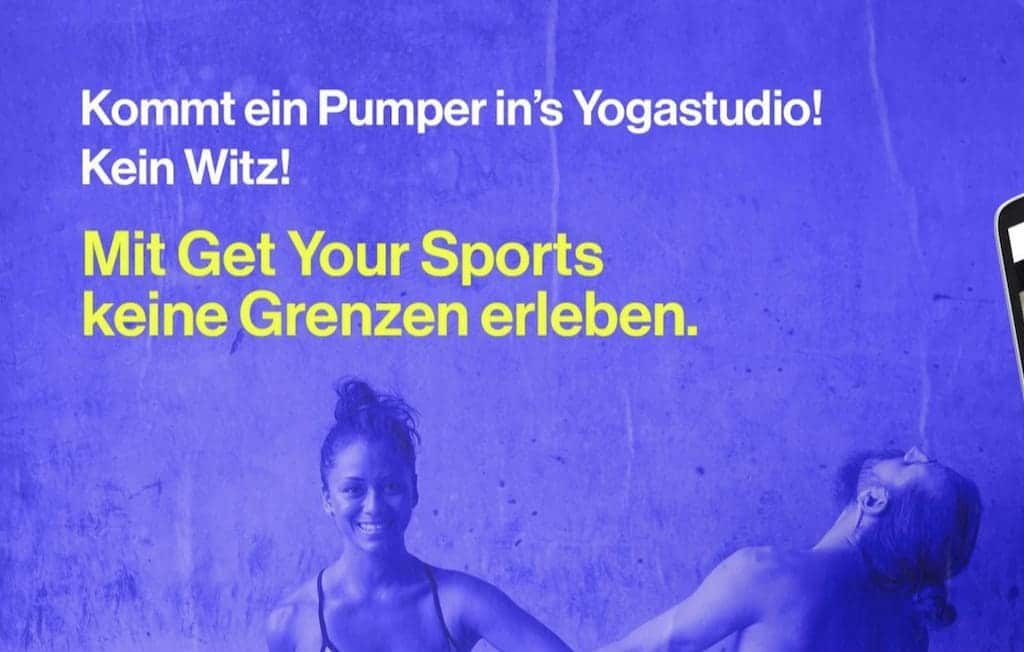 Get Your Sports Werbung