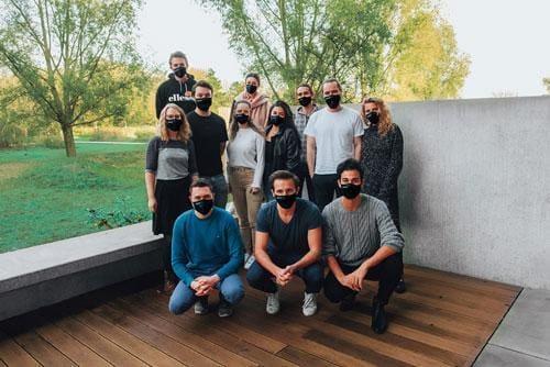 Das Maskengrün Team aus Köln